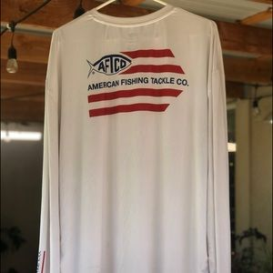 AFTCO performance fishing shirt